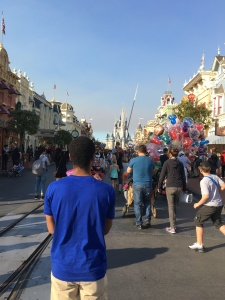 Donovan having his moment on Main Street U.S.A.